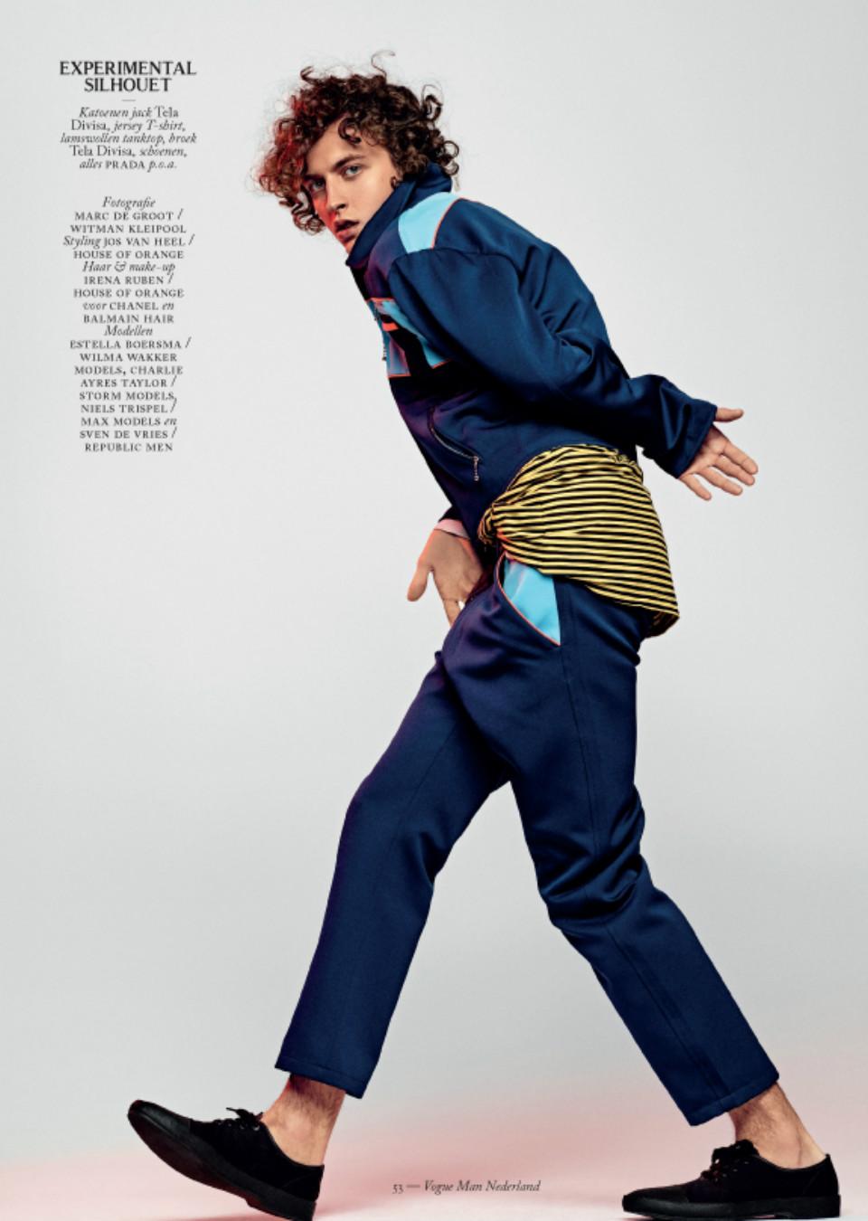 Vogue Man Netherlands March 2016