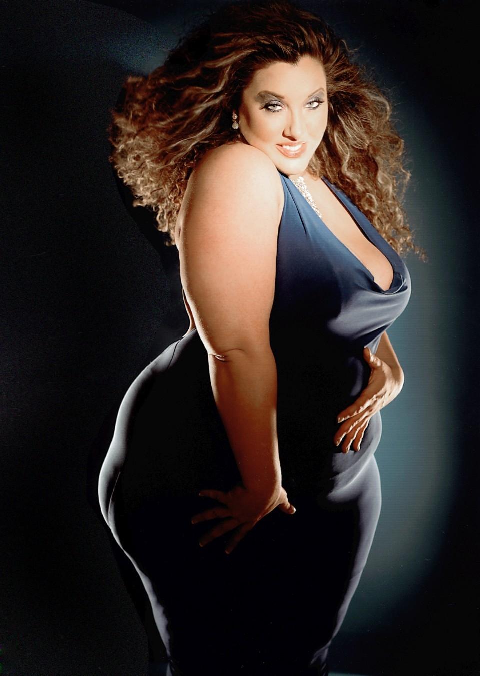 Фото толстых моделей