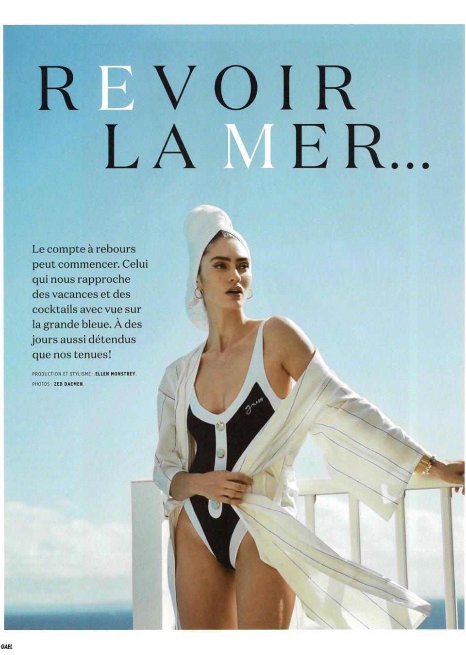 Marine de Leeuw for Gael Magazine