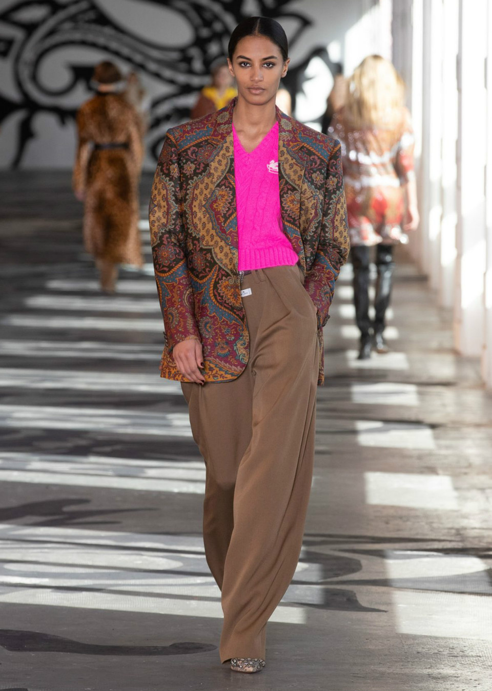 Sacha Quenby for Etro Fall Winter 2021