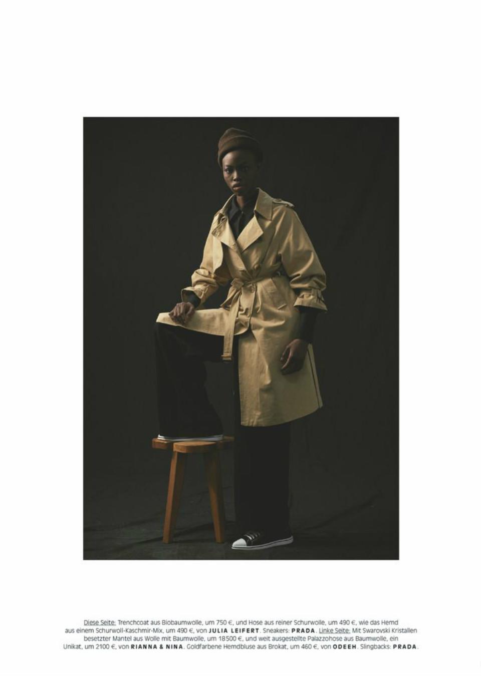 Dija Kallon for Vogue Germany