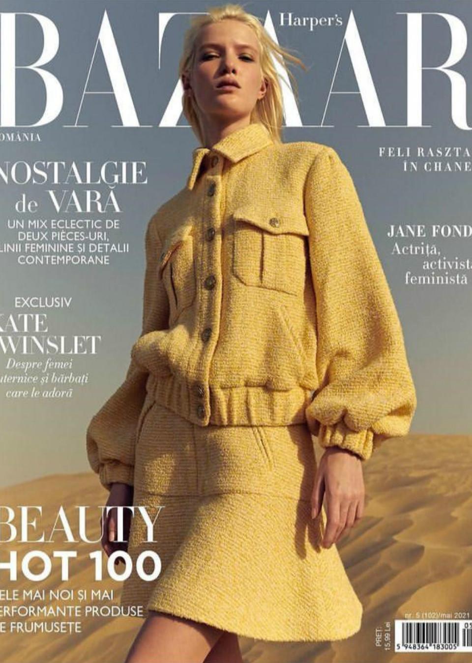 Feli Razstar Harper's Bazaar Romania