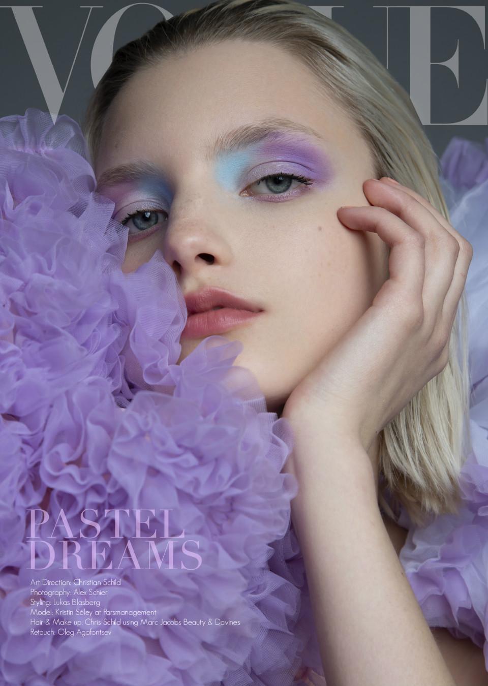 Kristin Drab for Vogue Czechoslovakia